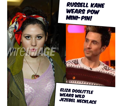Russell Kane and Eliza Doolittle wear Kitschensink!